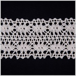 2.5 White Clunny Lace