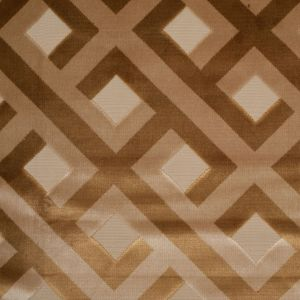 Turkish Nugget and Croissant Geometric Polyester-Acrylic Flocked Chenille