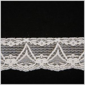 White Sheer Lace