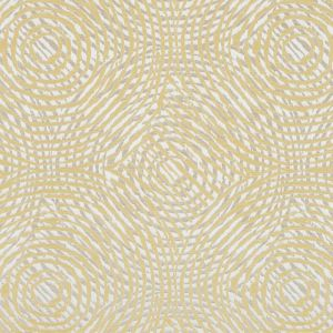 Zest Geometric Swirls on a Cotton and Polyester Woven