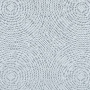 Dove Geometric Swirls on a Cotton and Polyester Woven