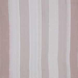 Indian Ivory/Beige Striped Poly/Cotton Brocade