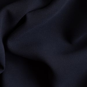 Navy Polyester Crepe