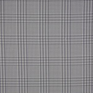Spanish Heather Gray Houndstooth Poly-Cotton Woven