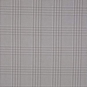 Spanish Beige Houndstooth Poly-Cotton Woven