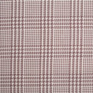 Spanish Mocha Houndstooth Poly-Cotton Woven