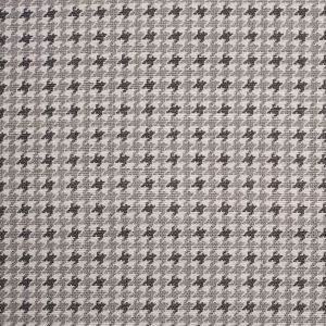 Spanish Charcoal Houndstooth Poly-Cotton Woven