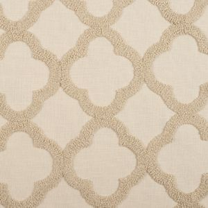 Linen Classical Embroidered Linen-Like Polyester