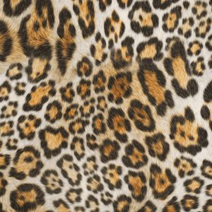 Jaguar Printed Micro-Polyester and Cotton