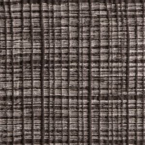 Brown Textured Grid Blended Linen Woven