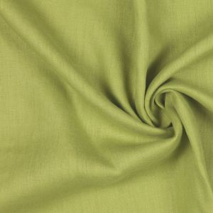 Lime Woven Linen Suiting