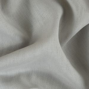 Gray Woven Linen Suiting