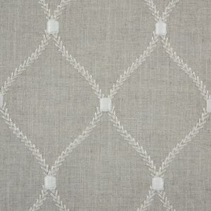 Flint Classical Rayon Embroidered Linen
