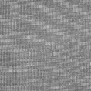 Silver Polyester-Cotton Basketwoven Tweed