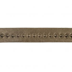 Italian Copper Stud Embossed Faux Leather - 1.75
