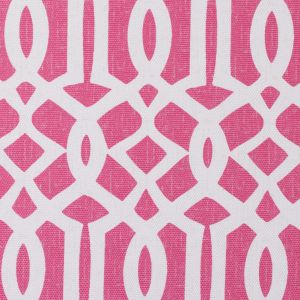 Pink Lattice Outdoor Polyester Canvas