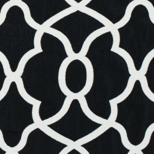 Ebony and Off-White Classically Woven Twill