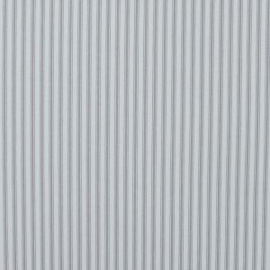 Nickle and White Ticking Striped Cotton Twill