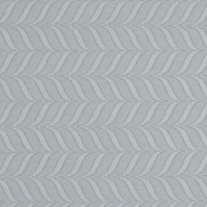 Gray Foliage Quilted Matelasse