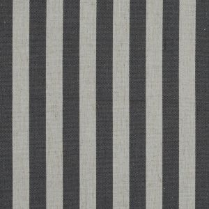 Raven Awning Striped Polyester and Linen Woven