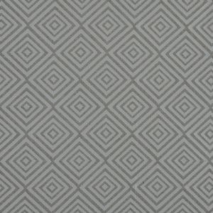 Beige and White Diamond Patterned Jacquard