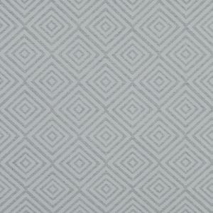 Gray and Off-White Diamond Patterned Jacquard