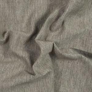 Beige and Gray Basket Woven Polypropylene Upholstery Fabric