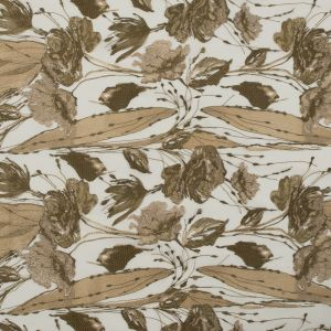 Metallic Pea and Olive Green Floral Embroidered Tulle