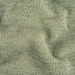 Mint Abstract Textured Acrylic and Polyester Chenille
