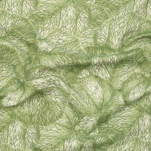 Apple Tropical Leaves Printed Woven