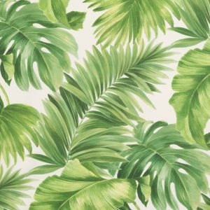Foliage Tropical Leaves Printed Woven