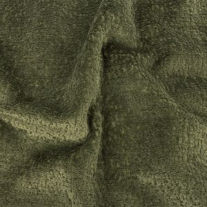 Crypton Hesse Green Tactile Polyester Chenille