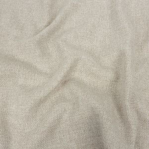 Crystal Gray Basketwoven Polyester and Cotton Home Decor Fabric