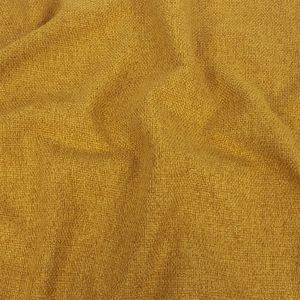 Mustard Basketwoven Polyester and Cotton Home Decor Fabric