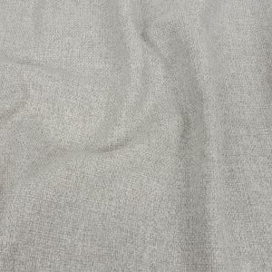 Warm Gray Basketwoven Polyester and Cotton Home Decor Fabric