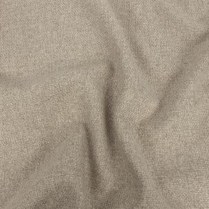 Light Beige Basketwoven Polyester and Cotton Home Decor Fabric