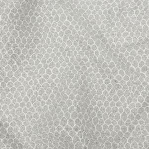 Silver Scaled Blended Polyester Jacquard