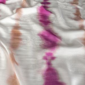 Mood Exclusive Violet Cloud Writing Flowery Viscose Jacquard