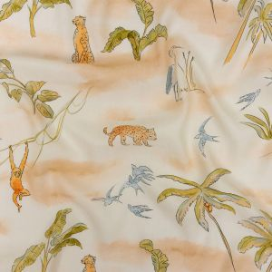 Mood Exclusive Ivory Savanna Spectacle Sustainable Viscose Woven