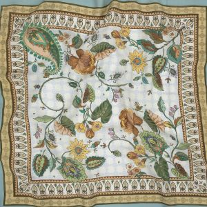 Mood Exclusive Courtyard Blooms Viscose Twill