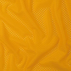 Heracles Gold Polyester Athletic Mesh