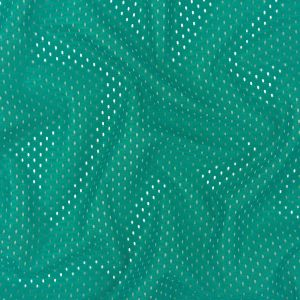 Heracles Teal Blue Polyester Athletic Mesh