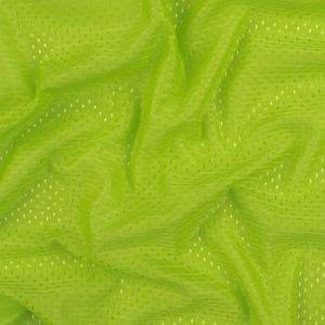 Heracles Jasmine Green Polyester Athletic Mesh
