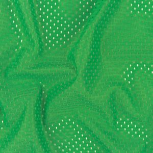 Heracles Kelly Green Polyester Athletic Mesh