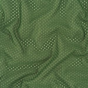 Heracles Hunter Green Polyester Athletic Mesh