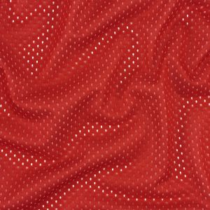 Heracles Haute Red Polyester Athletic Mesh