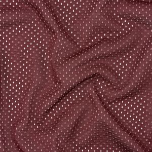 Heracles Cabernet Polyester Athletic Mesh