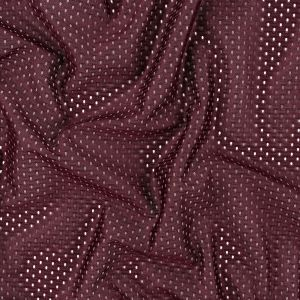 Heracles Maroon Banner Polyester Athletic Mesh