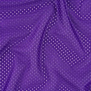 Heracles Purple Polyester Athletic Mesh