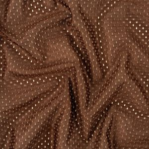Heracles Brown Polyester Athletic Mesh